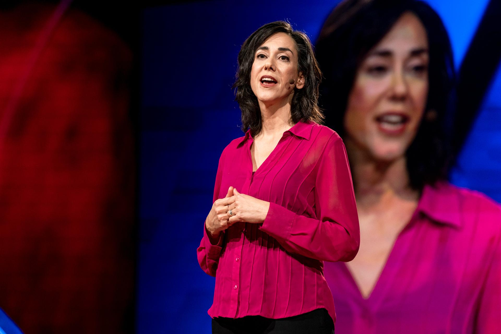MADRE Executive Director Yifat Susskind speaks at TEDwomen