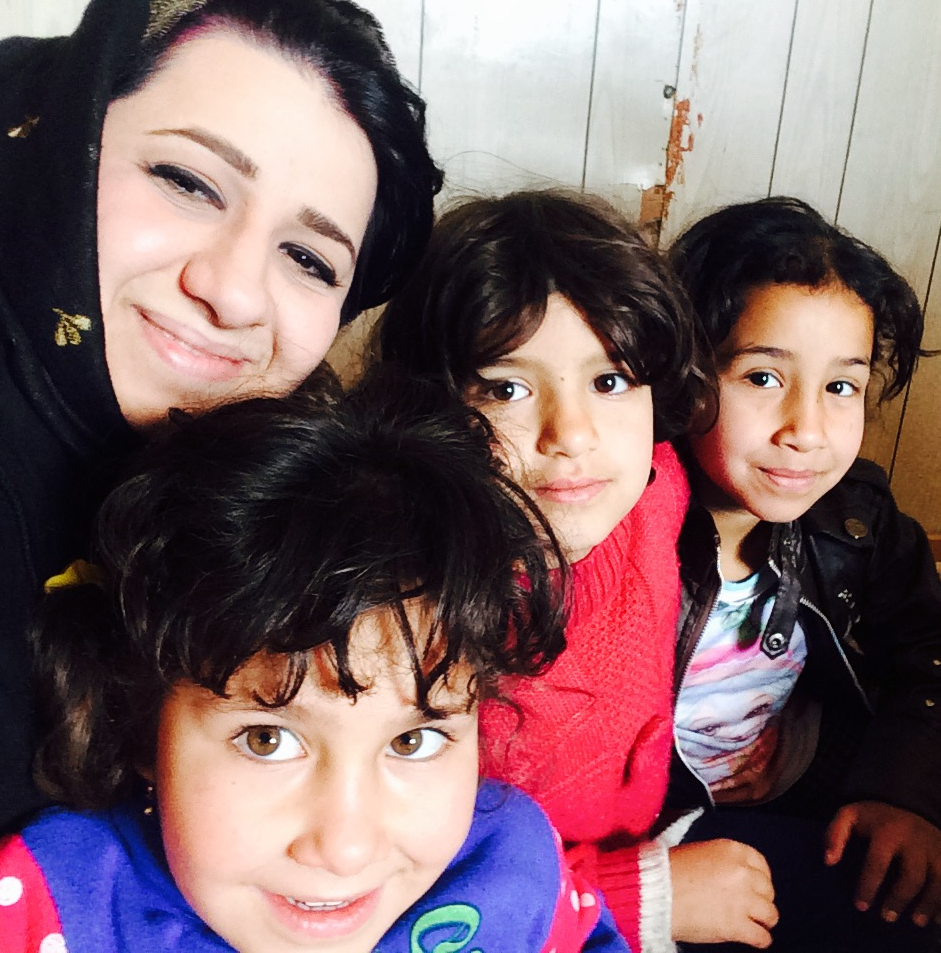 young Iraqi children sheltered at OWFI