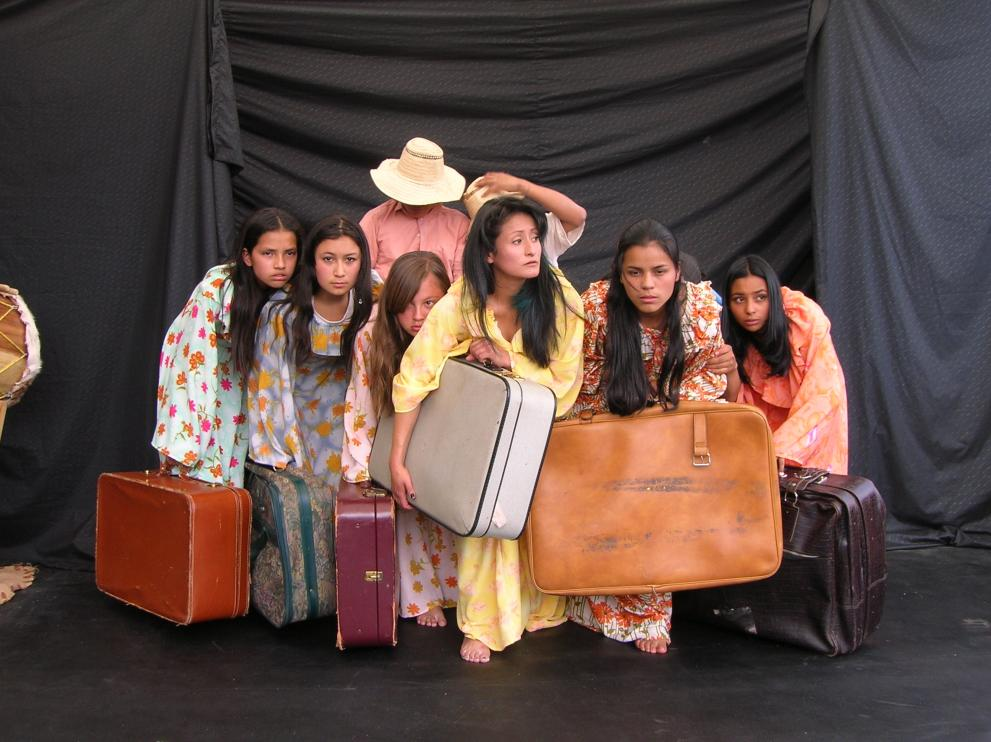 Theater classes help children of war to heal and grow