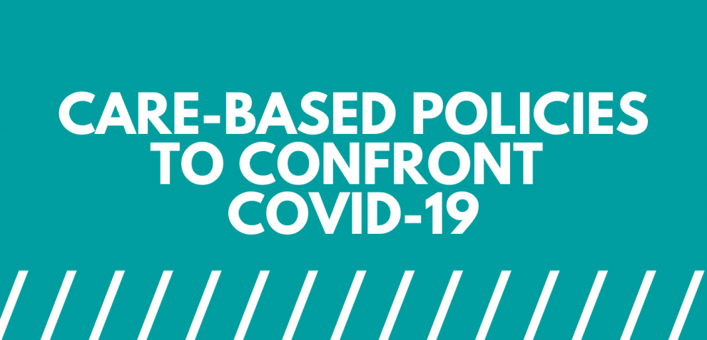 Graphic: Care-based policies to confront COVID-19