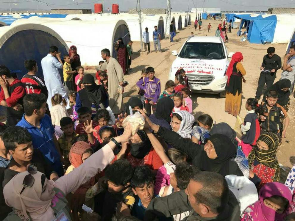 OWFI delivered lifesaving aid in Mosul