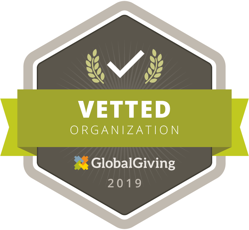 Vetted Organization Badge for 2019 provided by Global Giving